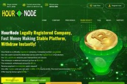 Invest site hournode - Status Scam - start 2019-10-07 - plan 1.08% Hourly For 96 Hours