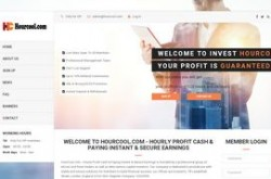 Invest site hourcool - Status Scam - start 2019-10-16 - plan 0.9% - 1% hourly for 120 hours