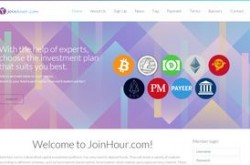 Invest site joinhour - Status Scam - start 2019-10-08 - plan 1.04% - 2.2% hourly for 100 hours