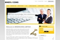 Invest site minercoins - Status Scam - start 2019-11-23 - plan 4.25% hourly for 24 hours