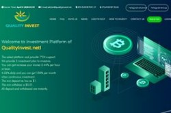 Invest site qualityinvest - Status Scam - start 2020-04-07 - plan 0.6-0.61% Hourly for 170 hours