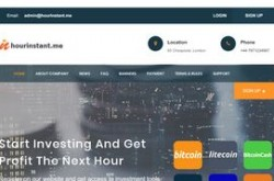 Invest site hourinstant - Status Scam - start 2020-04-13 - plan 1.50% Hourly For 72 Hours