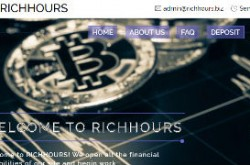 Invest site richhours - Status Scam - start 2020-05-21 - plan 1.08-1.50% hourly for 96 hours