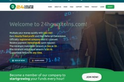 Invest site 24hourscoins - Status Scam - start 2020-06-02 - plan 1.09% hourly for 96 hours