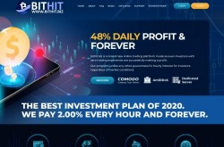 Invest site bithit - Status Scam - start 2020-08-07 - plan 2.20% – 4% hourly for 50 hours