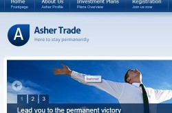 Invest site ashertrade - Status Scam - start 2019-06-27 - plan 12% daily for 10 days