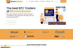 Invest site bitcointribution - Status Scam - start 2020-08-19 - plan 1.23% Hourly For 88 Hours