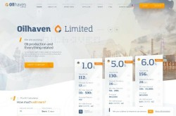 Invest site oilhaven - Status Scam - start 2020-09-06 - plan 1% daily for 12 days (principal return)