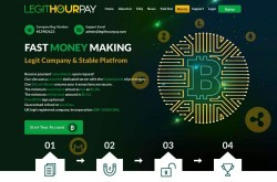 Invest site legithourpay - Status Scam - start 2020-11-04 - plan 1.1% hourly for 96 hours