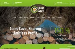 Invest site coinscave - Status Scam - start 2019-02-20 - plan 101% After 1 Day $500.00 - $100000.00