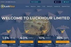 Invest site luckhour - Status Scam - start 2019-06-19 - plan 2.85% Hourly For 38 Hours