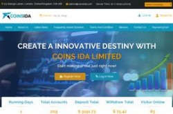Invest site coinsida - Status Scam - start 2019-07-21 - plan 2.70% Hourly Profit For 40 Hours