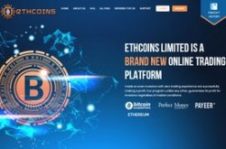 Invest site ethcoins - Status Scam - start 2019-08-04 - plan 3.05% Hourly For 35 Hours