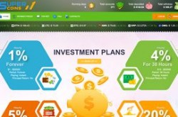 Invest site supercoins - Status Scam - start 2019-08-24 - plan 2.30% Hourly For 48 Hours