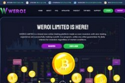 Invest site weroi - Status Scam - start 2019-09-01 - plan 2.45% Hourly For 45 Hours